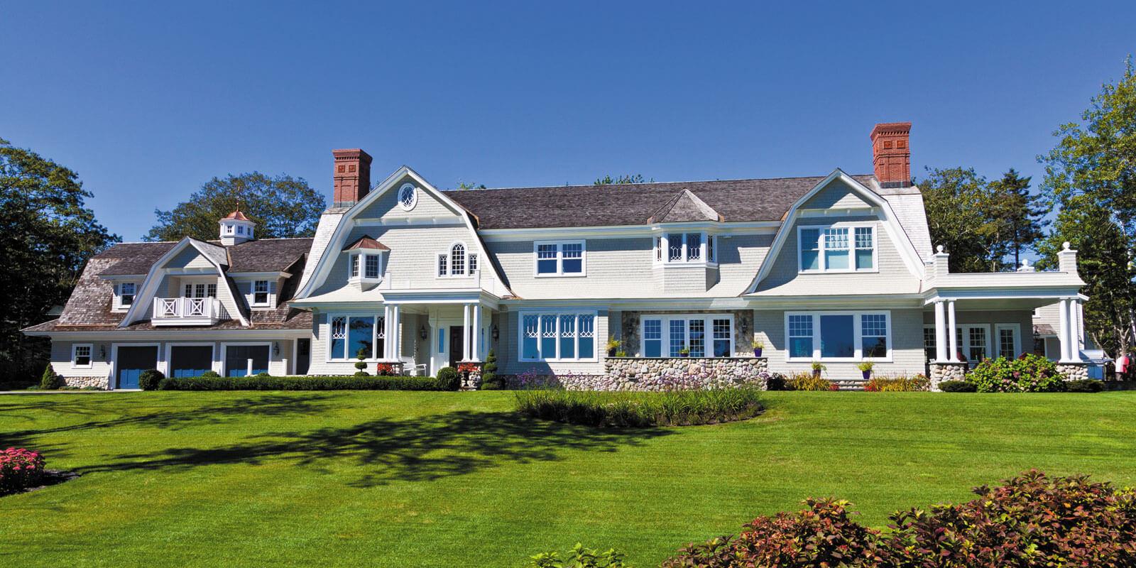simple luxury house